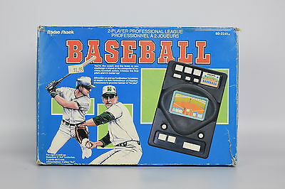 Radio Shack,  Two Player Pro Baseball Vintage Electronic Game | FAST POST