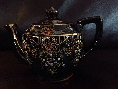 Red Clay Small Brown Teapot Japan
