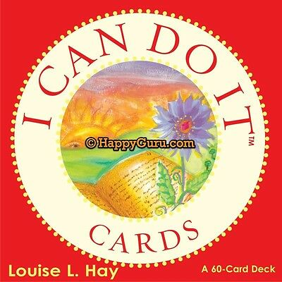 """""""i Can Do It"""" Louise L. Hay (60 Oracle Cards)"""