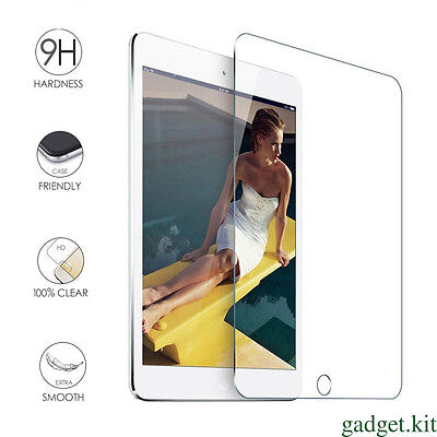 9H Tempered Glass Screen Protector Protective Film Guard For iPad 5 6 air 1 2 FU