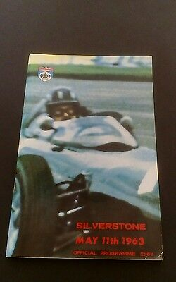 Official Programme Silverstone May 11Th 1963 Trophy Meeting