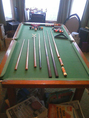 snooker table 6ftx3ft slate bed STOCKPORT
