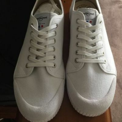 Spring Court Sneakers G2 White Canvas Size 11