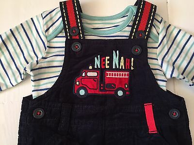Baby Boy Dungaree Outfit 3-6 Months