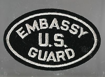 Obsolete US Federal Embassy Guard Embroidered Shoulder Patch