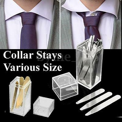 21 Types Stainless Steel/Copper/Nylon Collar Stays Stiffeners for Men's Shirt