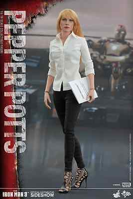 Hot Toys Marvel's Pepper Potts / Iron Man 3 / Sixth Scale Figure