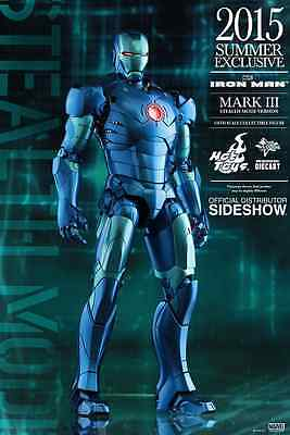 Hot Toys Marvel's Iron Man Mark Iii Stealth Mode / Sixth Scale Figure