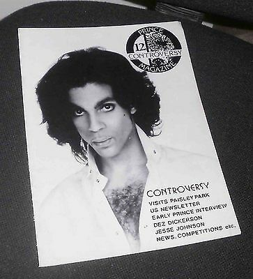 PRINCE * Controversy Magazine * Issue 12 * 1988 * Dez Dickerson, Tyka Nelson.