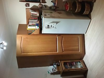 Solid American Oak Timber Kitchen for sale