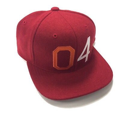Fourstar Octin sample snapback cap hat Red - one size 413