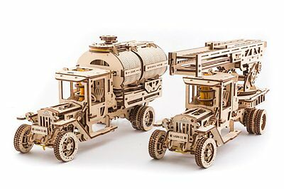UGEARS Additions for Truck Mechanical 3D Puzzle DIY Wooden Construction Set