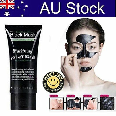 Facial Black Mask Care Deep Cleansing Removal Blackhead Nose Face Mask HOT ZX1