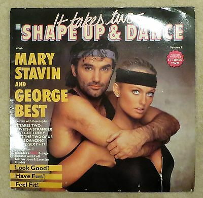 Mary Stavin & George Best Manchester United Shape Up & Dance Vol. 9 1984 Man Utd