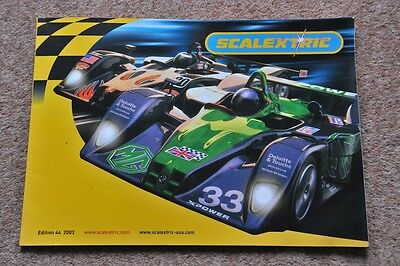 Scalextric Catalogue 44th edition 2003 Excellent