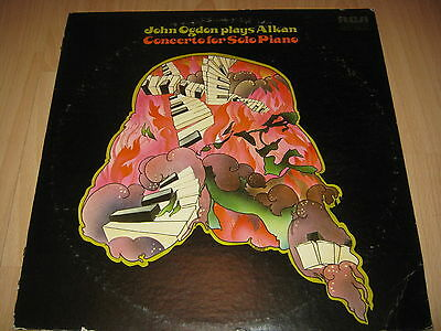 Vinyl LP: John Ogdon plays Alkan, Concerto for Solo Piano