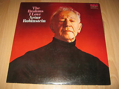 Vinyl LP: Artur Rubinstein, The Brahms I love