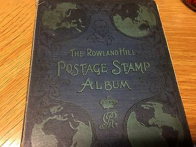 Old Stamp album, various countries, 550 approx