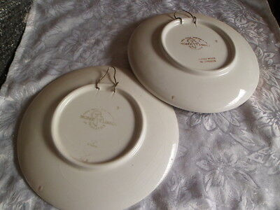 2 cabinet plates made in Greece