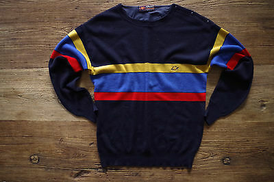80s 80er Il Granchio by Cose di Lana Pullover Pulli Sweatshirt Wolle Sweater S M