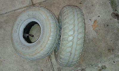 Pihsian  260x85  (3.00-4)) Pneumatic Mobility Scooter Tyres x 2