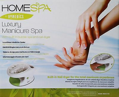 HoMedics MAN-3023-EU Luxus-Handspa-Gerät Maniküre-Center NEU