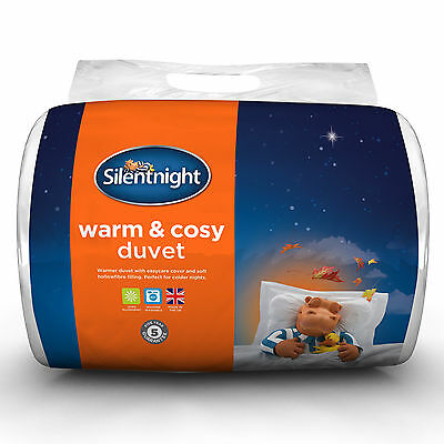Silentnight Warm and Cosy Duvet - 15 Tog - Single