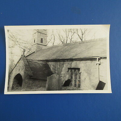 Old Photograph of Conelly Church.