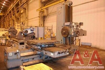 """Union 4"""" Horizontal Boring Mill with Rotary Table 23357"""
