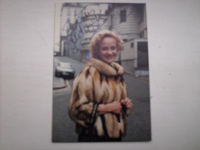 Doctor Who- signed photo of Sylvia Syms