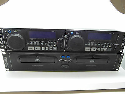 Citronic CD-4.2 Professional dual Cd Player With Anti-shock