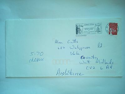 France Castelginest Stamped Cover  Air Mail To Coventry Gb Stamps