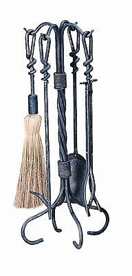 Uniflame Corporation 4 Piece Antique Tool Set With Stand