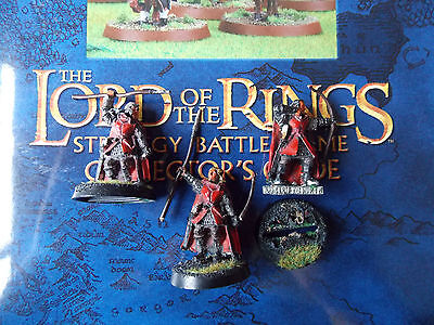 Games Workshop Lord Of The Rings Metal 3 X Rangers Of The North Painted
