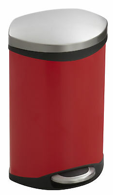 Safco Products Company Receptacle 2 Gallon Step On Trash Can