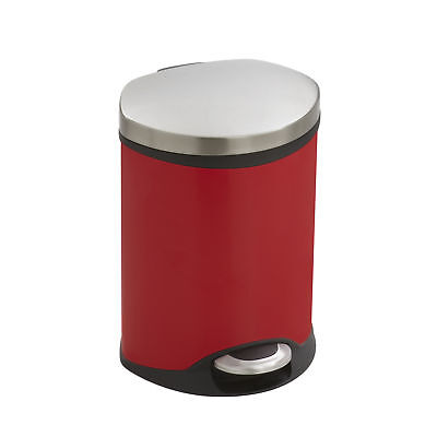 Safco Products Company Receptacle 1.5 Gallon Step On Trash Can
