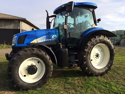 New Holland TS 135a Tractor