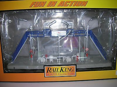 """MTH """"Tank Filling Station """" Building new boxed 30-90419lot # 10204"""