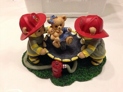 Hamilton Co Spring Into Action Firefighter Faithful Fuzzies Teddy Bear Brigade