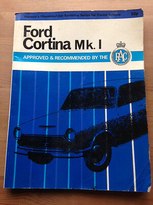 Ford Cortina Mark 1 Servicing Manual 1971 with 66 Illustrations