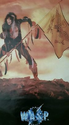 POSTER: W.A.S.P #3041 (Blackie, original print) almost gone!