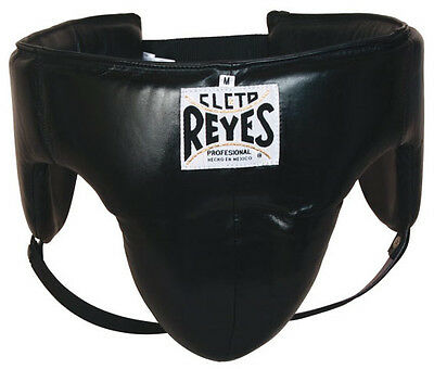 Cleto Reyes Traditional No-Foul Padded Boxing Protective Cup - Black
