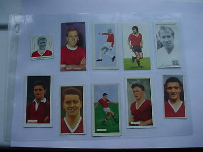 Manchester United - Cards x 16 - 1940 - 70s