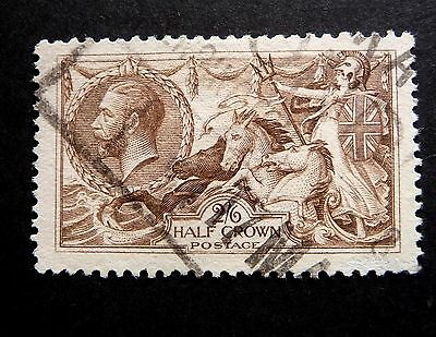 G B  GV 1913-18 2/6d CHOCOLATE BROWN SG414 CAT £75.00    USED