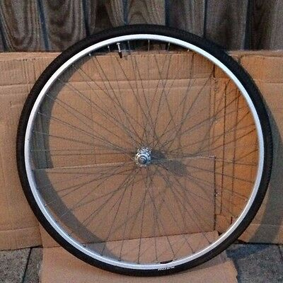 "Rigida vintage alloy racing bike front wheel 27"" (5)"