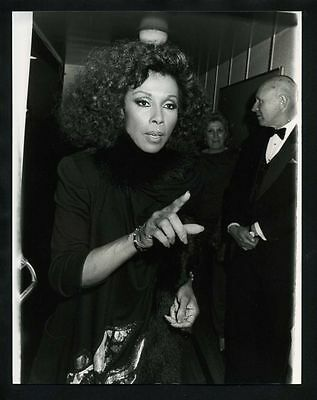 1986 Original Photo DIAHANN CARROLL Julia Dynasty gp