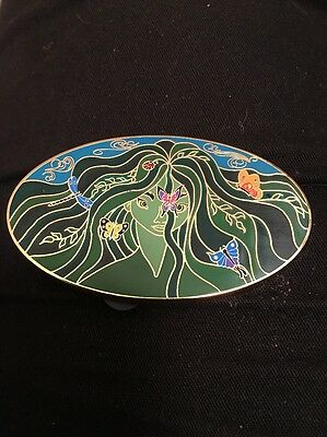 Sprite Fairy Butterflies Fantasia 2000 Stained Glass Disney Fantasy Pin LE 50