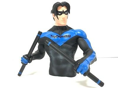 DC Collectibles DC Comics Super Heroes: Nightwing Bust Coin Bank