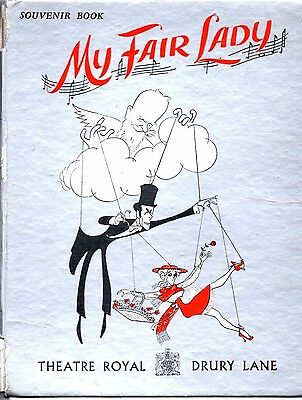 Hardback Programme From My Fair Lady - Loose And Torn Cover