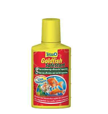 TETRA * GOLDFISH SafeStart  50ml * WATER CONDITIONER *